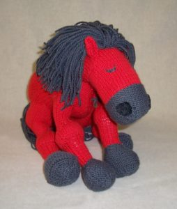 Free horse knitting pattern