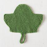 Leaf Dishcloth Free Knitting Pattern