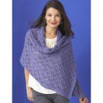 Patons Diamond Lace Wrap Free Knitting Pattern