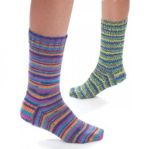 free easy and quick sock knitting pattern
