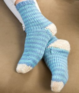 quick easy free sock knitting pattern