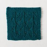 Sea Swells Dishcloth Free Knitting Pattern