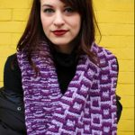 Slip-Stitch Colorwork Cowl Free Knitting Pattern