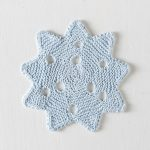 Snowflake Dishcloth Free Knitting Pattern