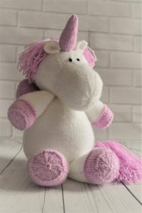 Sprinkle the Unicorn knitting pattern