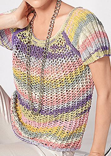 Stripy Summer Top Free Knitting Pattern Knitting Bee