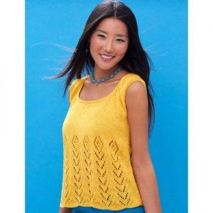 Sunny Days Tank Free Summer Knitting Pattern