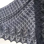 Swallowtail Shawl Free Knitting Pattern