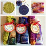 Trio of Dishcloths Free Knitting Patterns