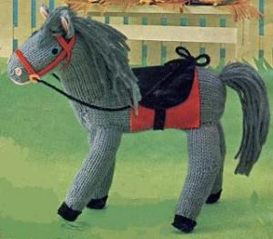 Vintage Horse Toy Knitting Pattern Free