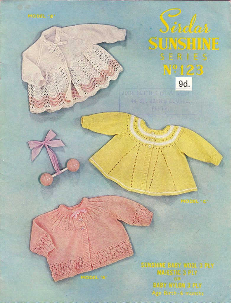 Vintage Baby and Children ⋆ Knitting Bee (11 free knitting patterns)