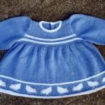 Baby Georgia Chick Dress Free Knitting Pattern