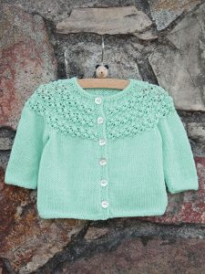 Baby Knit Cardigan pattern