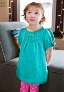Bilby Free Baby Dress Knitting Pattern