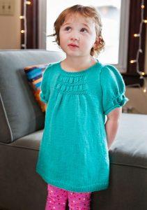 Bilby Free Baby Dress Knitting Pattern