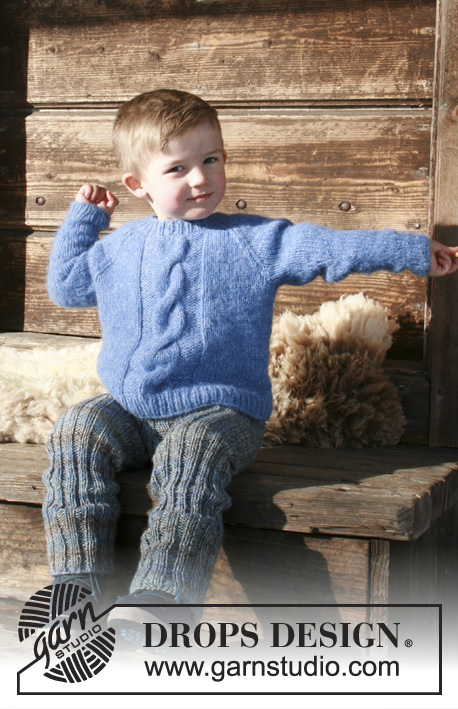 Boys Winter Nap Sweater Free Knitting Pattern