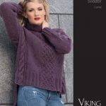 Camel Cabled Sweater Free Knitting Pattern