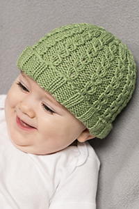 Danny Boy Baby Hat Free Knitting Pattern