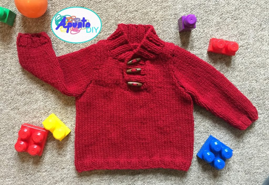 Eloy Baby Sweater Free Knitting Pattern