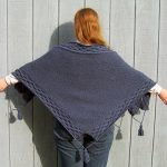 Free Aran Shawl Knitting Pattern