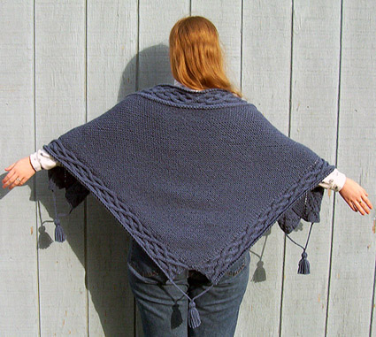 Free Free Aran Shawl Knitting Pattern Patterns Knitting Bee 2