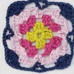 Granny Square Variation Free Crochet Pattern