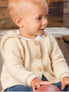 Easy baby Cardigan Knitting pattern