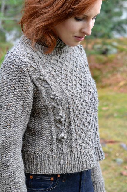 1127ea1e16b10 Helga Sweater Free Aran Knitting Pattern ⋆ Knitting Bee