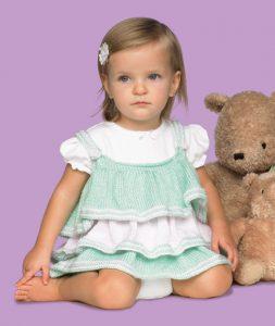 baby dress knitting patterns free