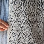 Learn to Knit Lace Scarf Free Pattern