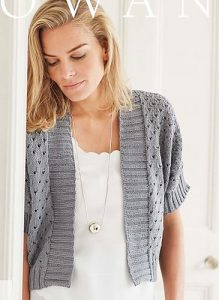 b5bf8ca20 Lila Free Cardigan Knitting Pattern ⋆ Knitting Bee