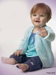 free baby jacket knitting pattern