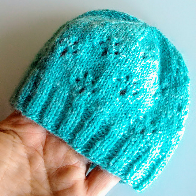 Free free lace baby hat knitting patterns Patterns ⋆ Knitting Bee ...