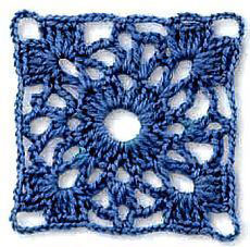 Square Lace Crochet Pattern Free