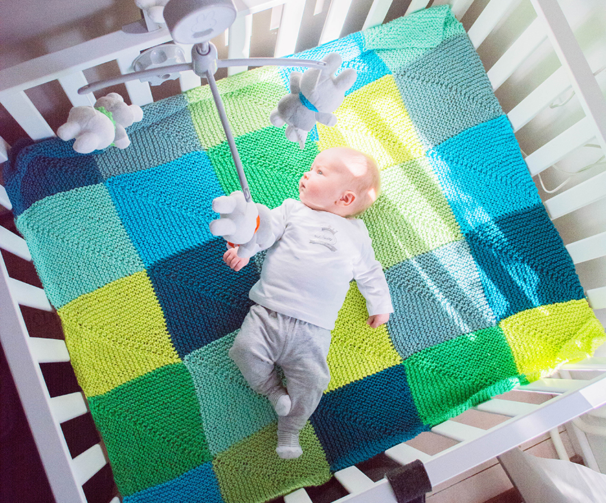 Super Must-have Crib Blanket Free Knitting Pattern