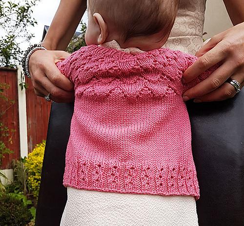 Baby Lace Cardigan Knitting Pattern Free : New Knitting Patterns on Knitting Bee
