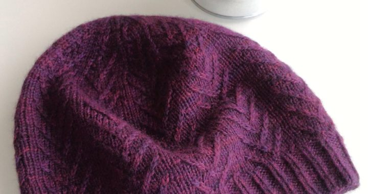 Twiggy Free Hat Knitting Pattern ⋆ Knitting Bee