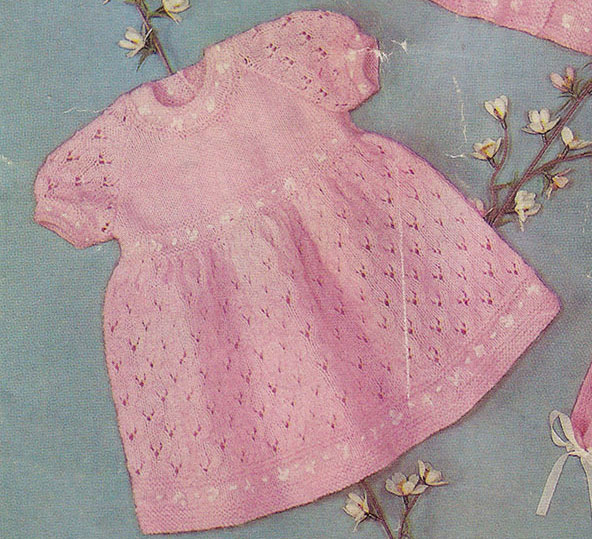 30 Free Knit Baby Dresses You Ll Love Knitting ⋆ Knitting Bee