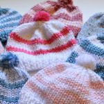 easy newborn hat knit pattern free