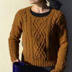 Parhelion Sweater Free Aran Knitting Pattern