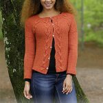 Autumn Vines Cardigan Free Knitting Pattern