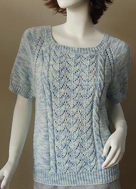 Free Free Ladies Lace Top Knitting Pattern Patterns