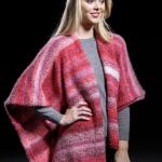 Berry Mouse Wrap Free Knitting Pattern Download. Easy free knitting pattern for women.