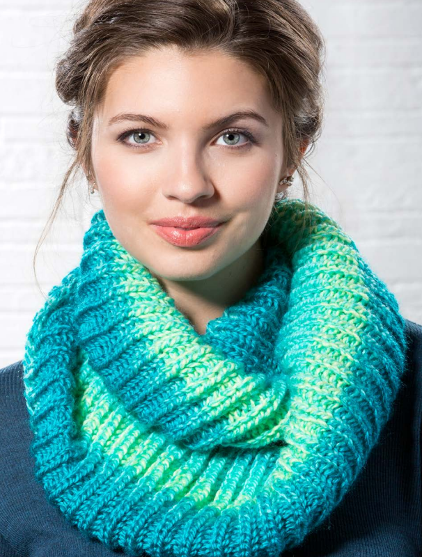 Brioche Cowl Free Knitting Pattern Download