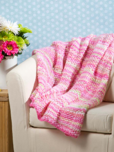 Building Blocks Blanket Free Knit Pattern Download for Baby. Easy baby blanket knitting patterns.