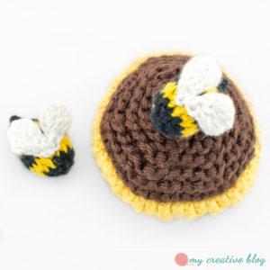 Bumble Bee Free Knitting Pattern