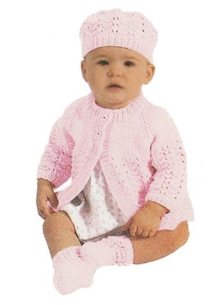 Buttery Soft Baby Set Pattern Free Knitting Pattern
