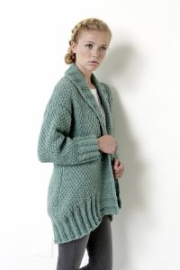 Long Cardigan Knitting Patterns Free