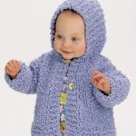 Comfy Hooded Jacket for Baby Free Knitting Pattern free baby knitting