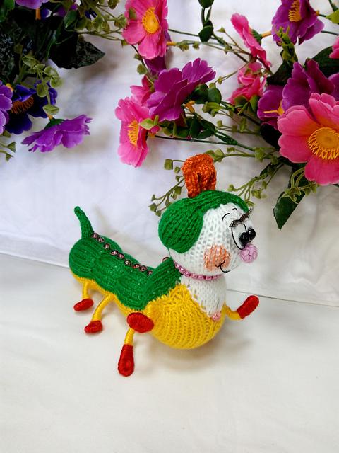 Cute Caterpillar Free Toy Knitting Pattern